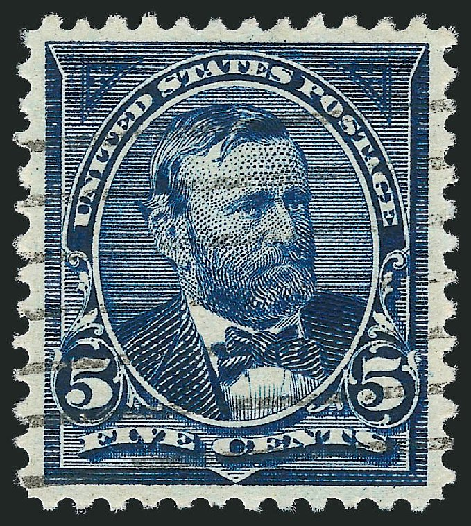 Prices of US Stamp Scott 281: 1898 5c Grant. Robert Siegel Auction Galleries, Oct 2011, Sale 1014, Lot 1622
