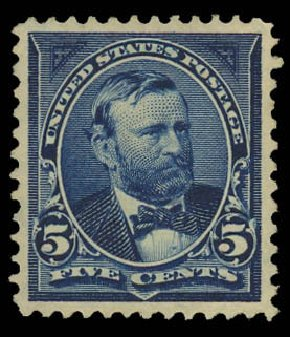 US Stamp Price Scott Cat. #281 - 1898 5c Grant. Daniel Kelleher Auctions, Oct 2012, Sale 632, Lot 1193
