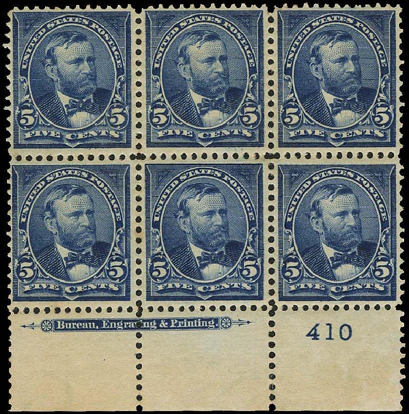 Value of US Stamp Scott Catalogue #281 - 5c 1898 Grant. Regency-Superior, Aug 2015, Sale 112, Lot 1286