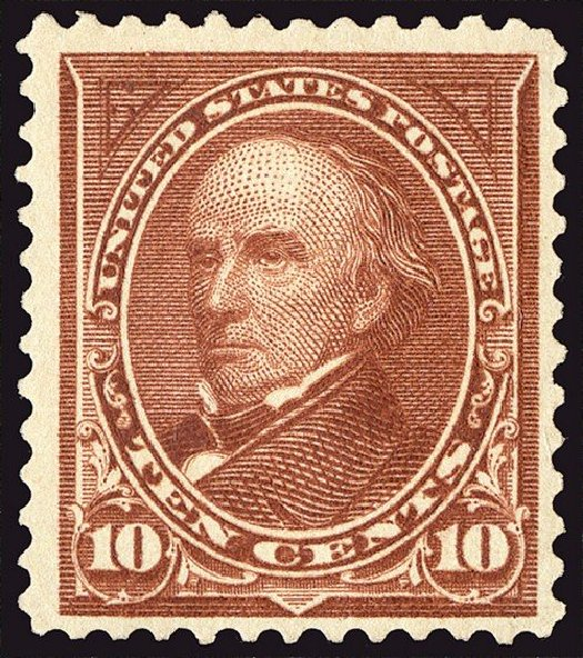 Values of US Stamp Scott #282C: 1898 10c Webster. Spink Shreves Galleries, Jan 2014, Sale 146, Lot 327