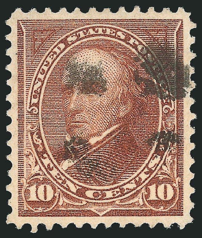 Price of US Stamps Scott 282C - 10c 1898 Webster. Robert Siegel Auction Galleries, Oct 2012, Sale 1032, Lot 3406