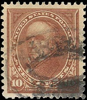 Value of US Stamps Scott Catalogue # 283: 10c 1898 Webster. Regency-Superior, Jan 2015, Sale 109, Lot 1019