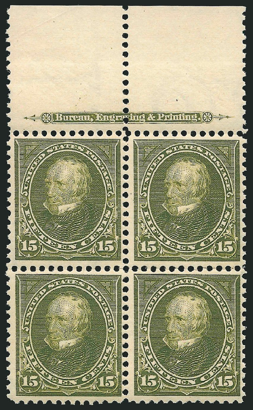 Prices of US Stamps Scott Catalog # 284 - 1898 15c Clay. Robert Siegel Auction Galleries, Apr 2015, Sale 1096, Lot 497