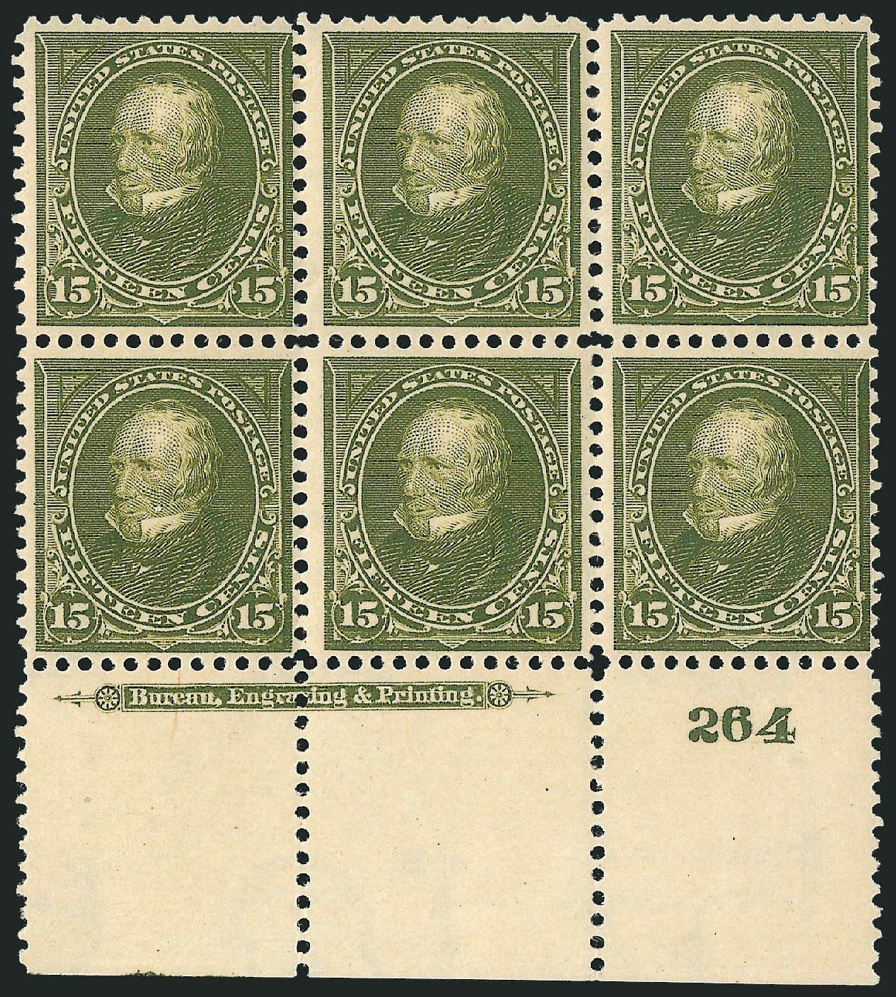 Prices of US Stamp Scott Catalog #284: 15c 1898 Clay. Robert Siegel Auction Galleries, Apr 2015, Sale 1096, Lot 498