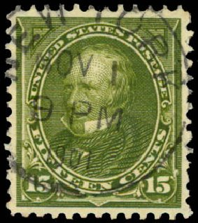 Cost of US Stamps Scott Catalogue # 284: 1898 15c Clay. Daniel Kelleher Auctions, May 2015, Sale 669, Lot 2809