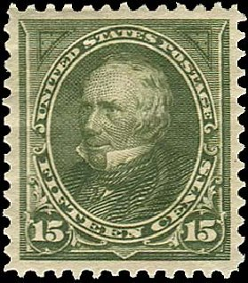 Values of US Stamps Scott Cat. # 284 - 1898 15c Clay. Regency-Superior, Jan 2015, Sale 109, Lot 1021