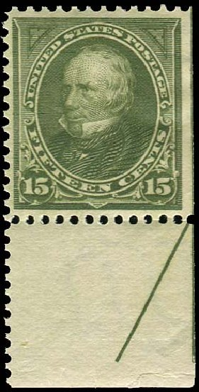 Price of US Stamps Scott # 284 - 1898 15c Clay. Regency-Superior, Jan 2015, Sale 109, Lot 1022