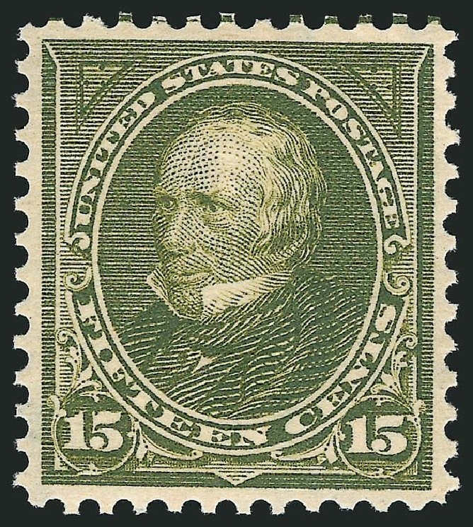 US Stamp Value Scott Cat. #284 - 15c 1898 Clay. Robert Siegel Auction Galleries, Dec 2014, Sale 1090, Lot 1412
