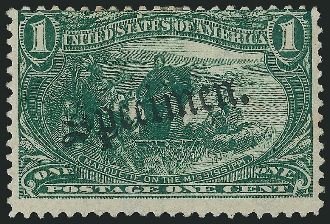 Price of US Stamp Scott Catalog #285: 1898 1c Trans Mississippi Exposition. Robert Siegel Auction Galleries, Oct 2014, Sale 1082, Lot 288