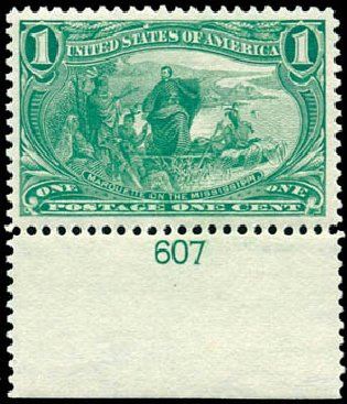 Costs of US Stamps Scott Catalog #285: 1898 1c Trans Mississippi Exposition. Schuyler J. Rumsey Philatelic Auctions, Apr 2015, Sale 60, Lot 2764