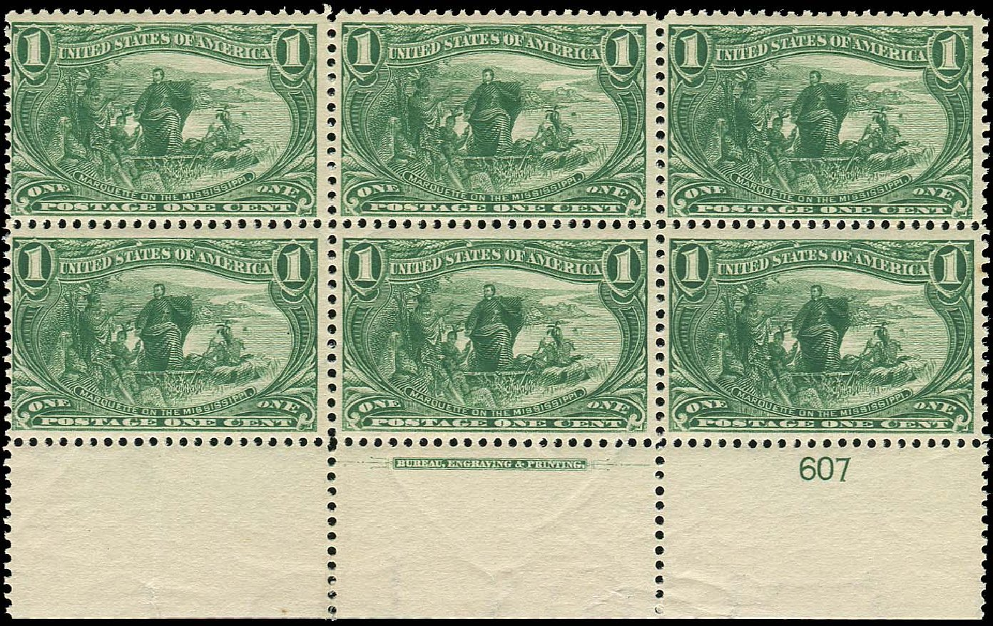 US Stamps Prices Scott Catalog 285 - 1898 1c Trans Mississippi Exposition. Regency-Superior, Nov 2014, Sale 108, Lot 1273