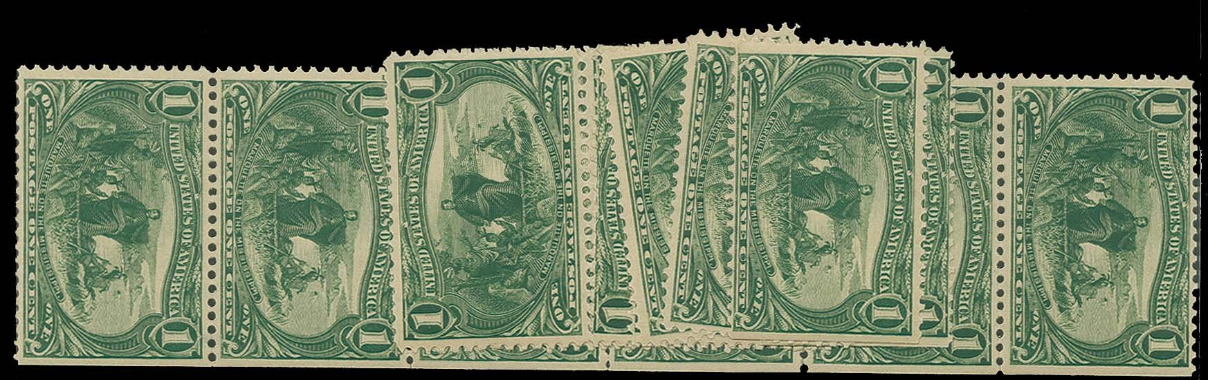 US Stamp Prices Scott Cat. # 285 - 1898 1c Trans Mississippi Exposition. H.R. Harmer, Oct 2014, Sale 3006, Lot 1296