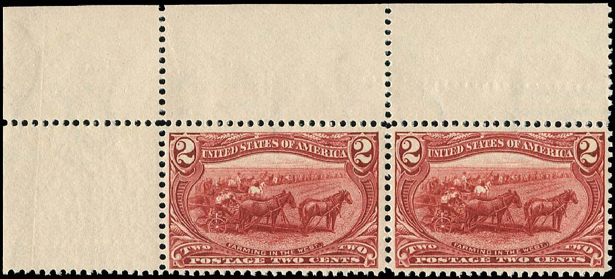 Price of US Stamps Scott Catalogue 286 - 1898 2c Trans Mississippi Exposition. Regency-Superior, Aug 2015, Sale 112, Lot 597
