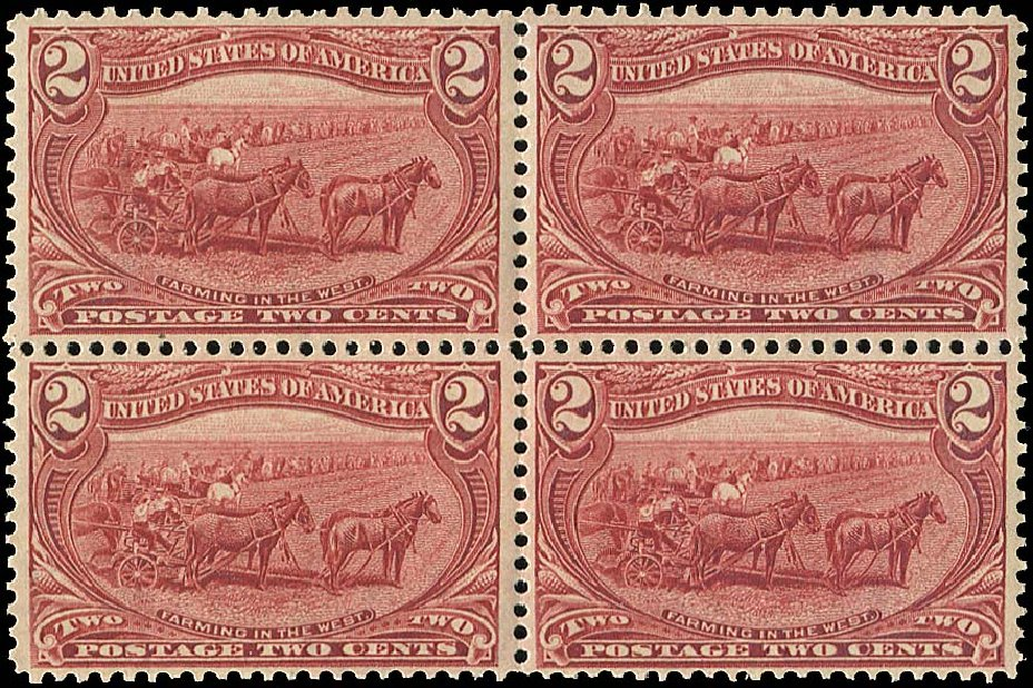 Prices of US Stamps Scott Catalogue # 286 - 1898 2c Trans Mississippi Exposition. Regency-Superior, Aug 2015, Sale 112, Lot 598