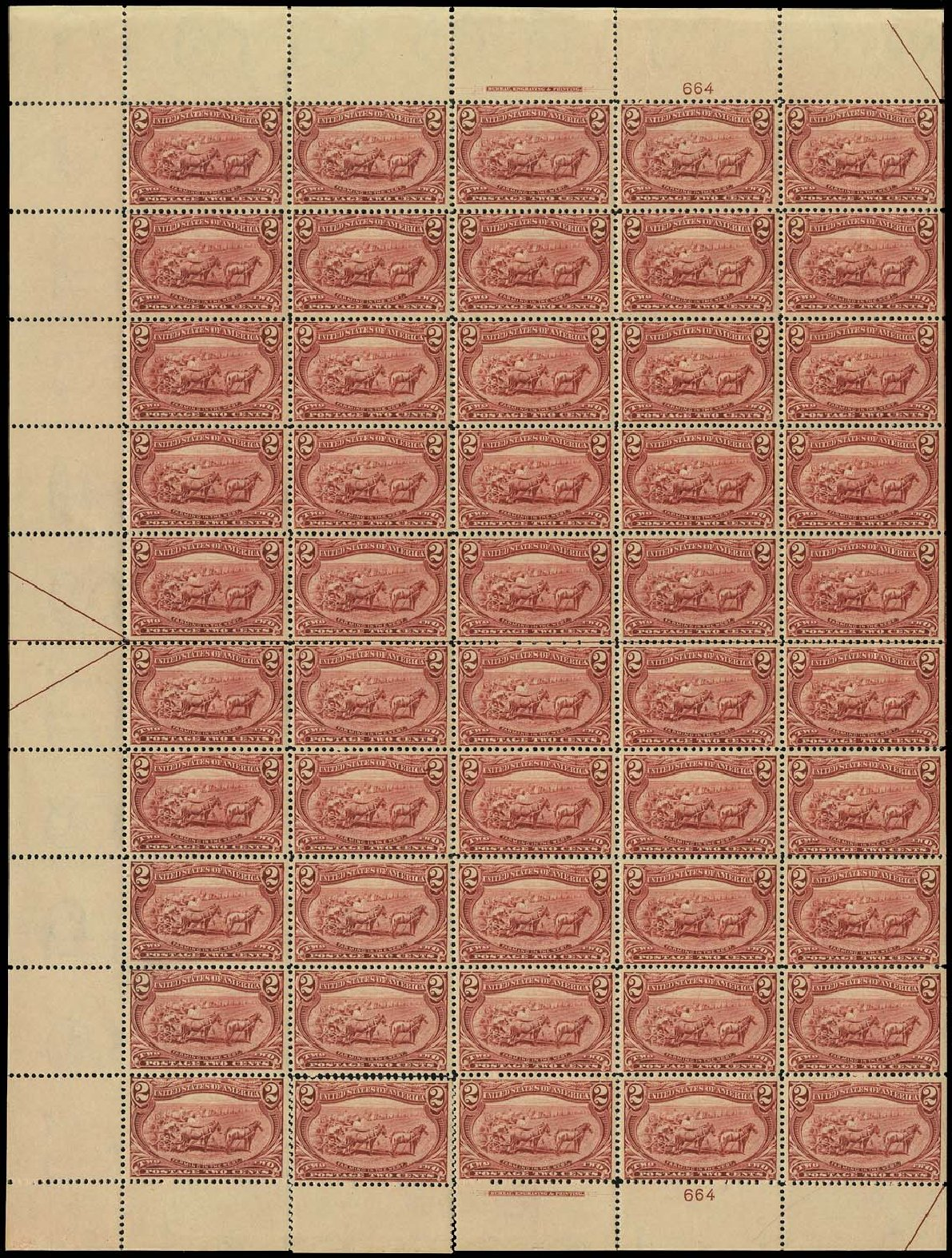 Prices of US Stamp Scott Catalogue # 286: 2c 1898 Trans Mississippi Exposition. Regency-Superior, Aug 2015, Sale 112, Lot 1479