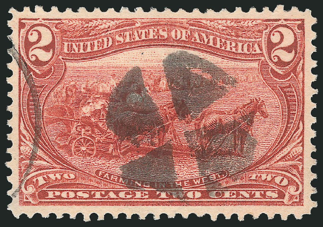 Costs of US Stamps Scott #286 - 2c 1898 Trans Mississippi Exposition. Robert Siegel Auction Galleries, Feb 2015, Sale 1092, Lot 1235