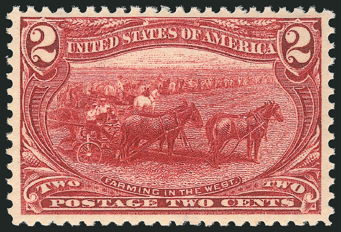 US Stamp Prices Scott # 286: 2c 1898 Trans Mississippi Exposition. Robert Siegel Auction Galleries, Nov 2013, Sale 1057, Lot 873