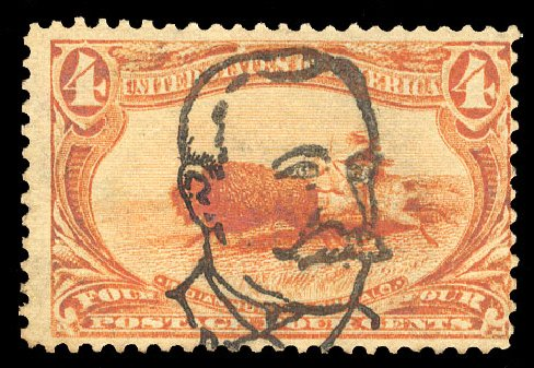 US Stamps Price Scott Catalogue # 287 - 4c 1898 Trans Mississippi Exposition. Cherrystone Auctions, Mar 2015, Sale 201503, Lot 37