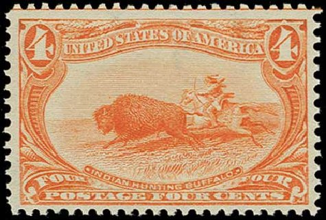 Prices of US Stamps Scott Catalog # 287: 4c 1898 Trans Mississippi Exposition. H.R. Harmer, Jun 2015, Sale 3007, Lot 3278