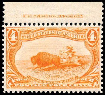 Price of US Stamps Scott Cat. 287 - 1898 4c Trans Mississippi Exposition. Schuyler J. Rumsey Philatelic Auctions, Apr 2015, Sale 60, Lot 2282
