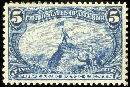 Value of US Stamps Scott #288 - 1898 5c Trans Mississippi Exposition. Spink Shreves Galleries, Jul 2015, Sale 151, Lot 232