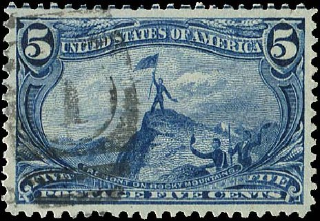 Price of US Stamp Scott Catalogue # 288 - 1898 5c Trans Mississippi Exposition. Regency-Superior, Aug 2015, Sale 112, Lot 603