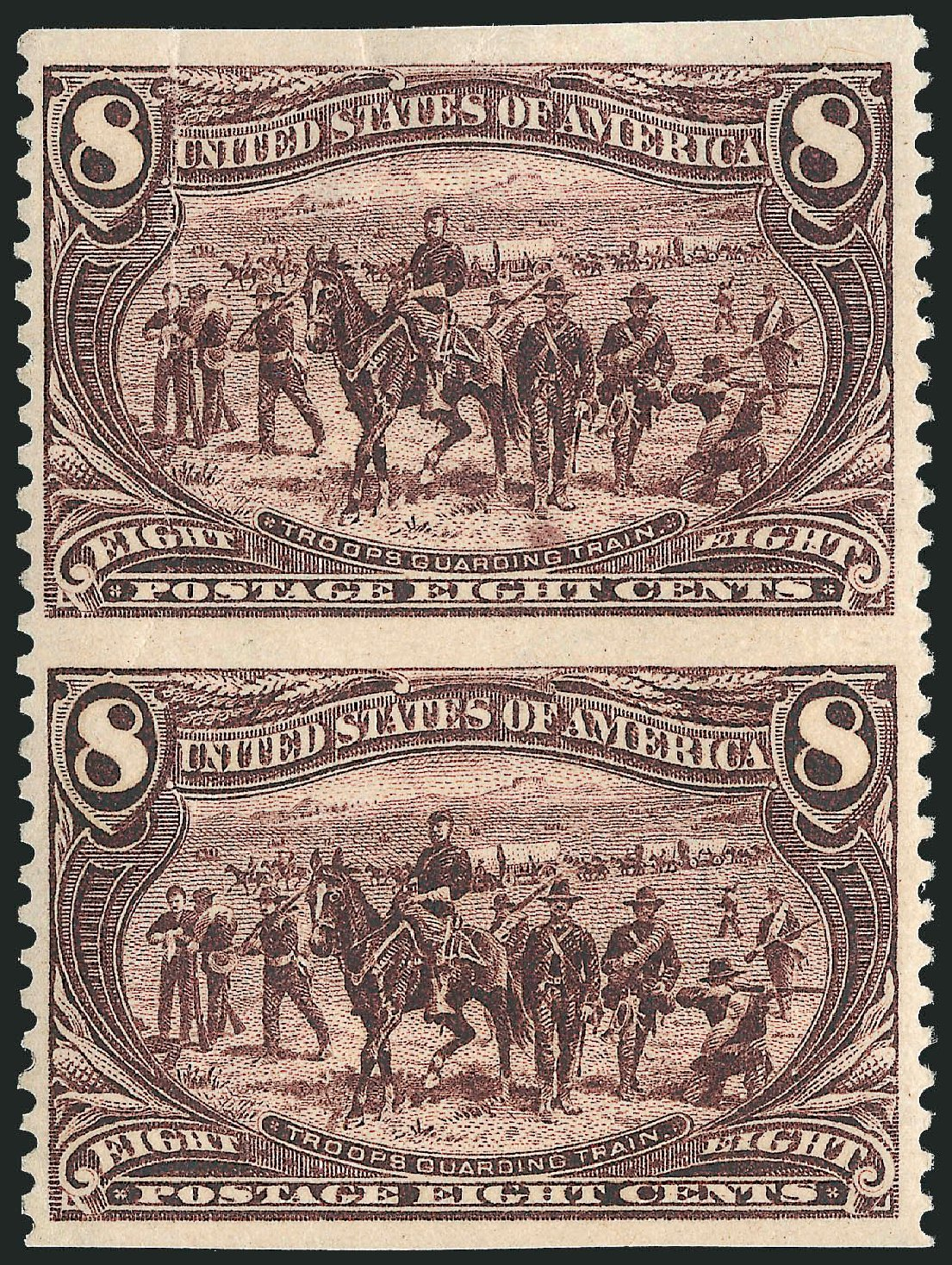 Value of US Stamps Scott Cat. #289: 1898 8c Trans Mississippi Exposition. Robert Siegel Auction Galleries, Jun 2015, Sale 1106, Lot 3139