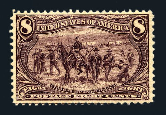Price of US Stamp Scott Catalog # 289 - 8c 1898 Trans Mississippi Exposition. Harmer-Schau Auction Galleries, Aug 2015, Sale 106, Lot 1700