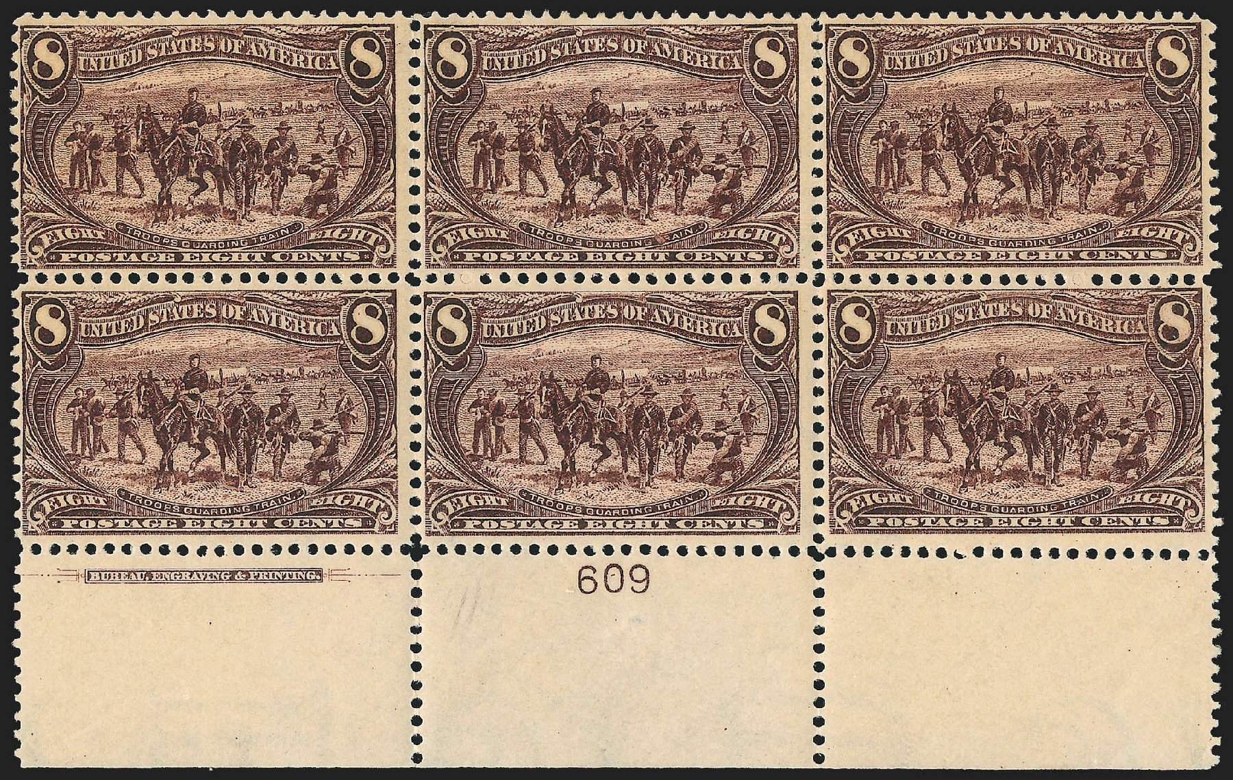 US Stamps Price Scott # 289 - 8c 1898 Trans Mississippi Exposition. Robert Siegel Auction Galleries, Jul 2015, Sale 1107, Lot 384