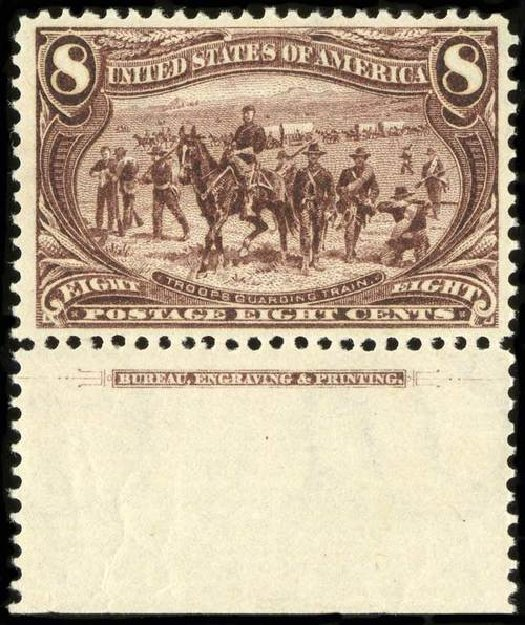 Price of US Stamps Scott 289 - 1898 8c Trans Mississippi Exposition. Spink Shreves Galleries, Jul 2015, Sale 151, Lot 233