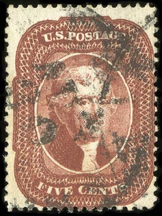 Price of US Stamp Scott Catalog 28A: 5c 1858 Jefferson. Spink Shreves Galleries, Jul 2015, Sale 151, Lot 47