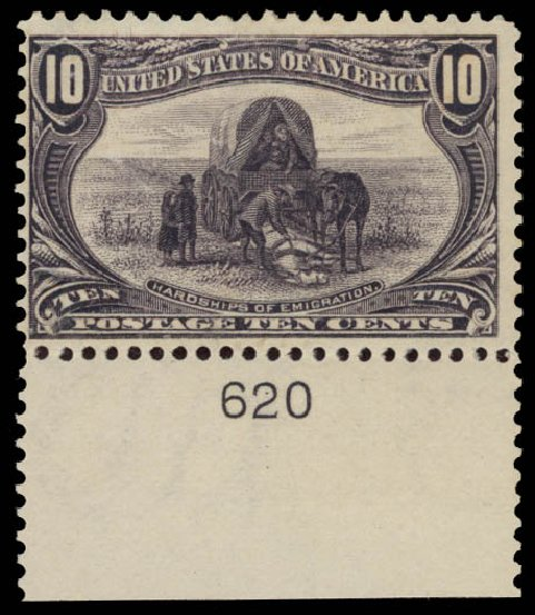 US Stamp Value Scott #290 - 10c 1898 Trans Mississippi Exposition. Daniel Kelleher Auctions, May 2015, Sale 669, Lot 2820