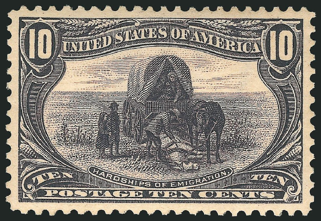 Values of US Stamp Scott #290: 1898 10c Trans Mississippi Exposition. Robert Siegel Auction Galleries, Feb 2015, Sale 1092, Lot 1240