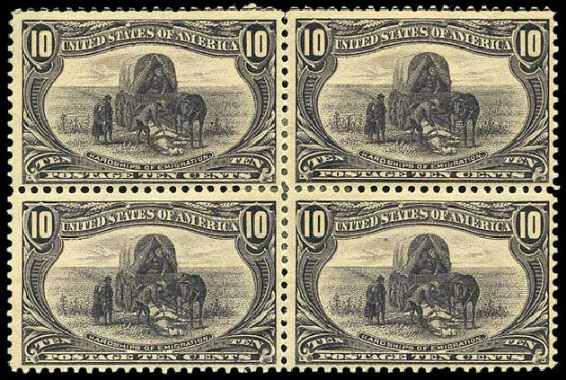 Costs of US Stamp Scott Catalogue 290: 1898 10c Trans Mississippi Exposition. Harmer-Schau Auction Galleries, Aug 2015, Sale 106, Lot 1701