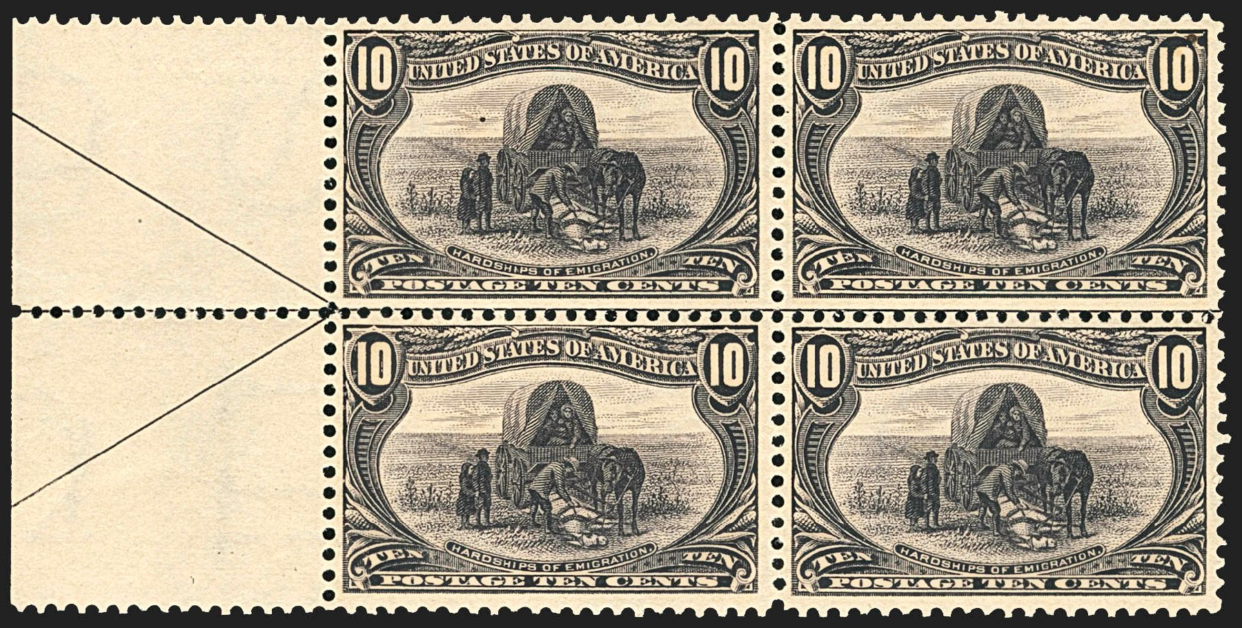 Cost of US Stamp Scott Cat. # 290: 10c 1898 Trans Mississippi Exposition. Robert Siegel Auction Galleries, Jul 2015, Sale 1107, Lot 385
