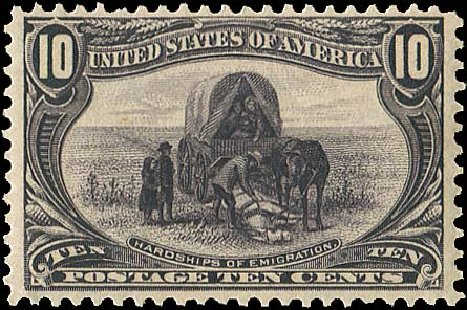 US Stamp Price Scott # 290: 1898 10c Trans Mississippi Exposition. Regency-Superior, Aug 2015, Sale 112, Lot 612