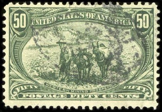 Costs of US Stamp Scott Catalogue # 291: 1898 50c Trans Mississippi Exposition. Spink Shreves Galleries, Jul 2015, Sale 151, Lot 236