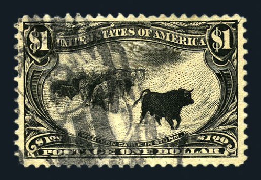 Prices of US Stamps Scott Catalogue # 292 - 1898 US$1.00 Trans Mississippi Exposition. Harmer-Schau Auction Galleries, Aug 2015, Sale 106, Lot 1715