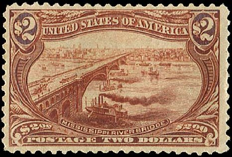 Price of US Stamp Scott Catalog 293 - US$2.00 1898 Trans Mississippi Exposition. Regency-Superior, Aug 2015, Sale 112, Lot 622