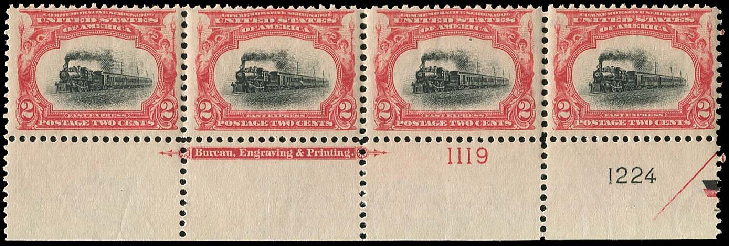 US Stamps Prices Scott # 295: 2c 1901 Pan American Exposition. Regency-Superior, Nov 2014, Sale 108, Lot 627