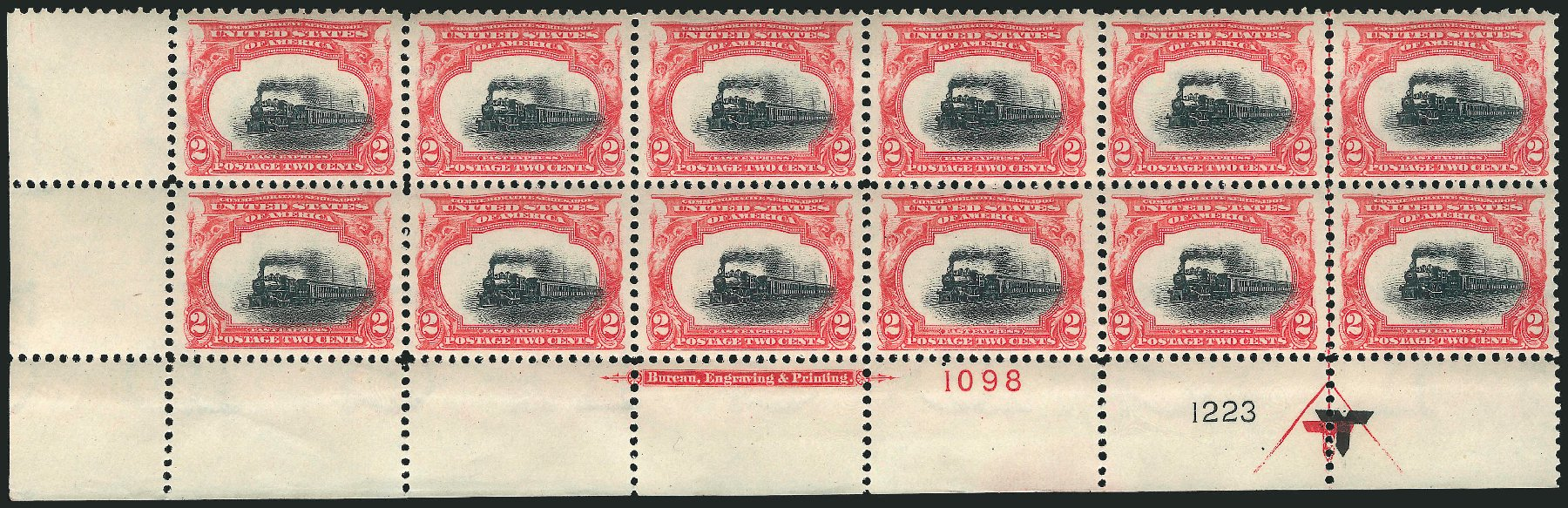 US Stamp Price Scott Catalog # 295: 1901 2c Pan American Exposition. Robert Siegel Auction Galleries, Feb 2015, Sale 1092, Lot 1250