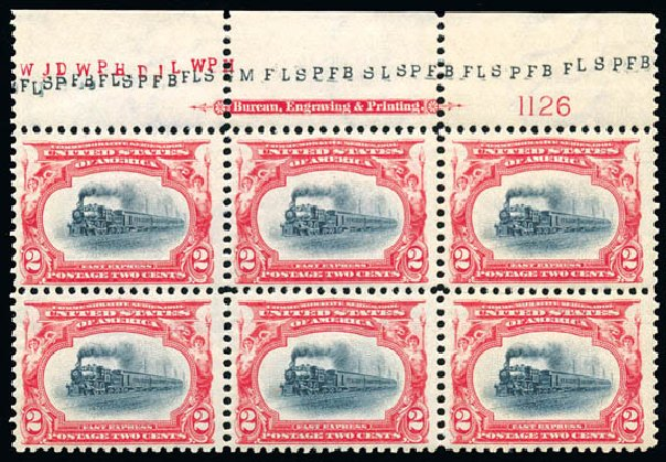 Value of US Stamp Scott Cat. 295 - 2c 1901 Pan American Exposition. Schuyler J. Rumsey Philatelic Auctions, Apr 2015, Sale 60, Lot 2891