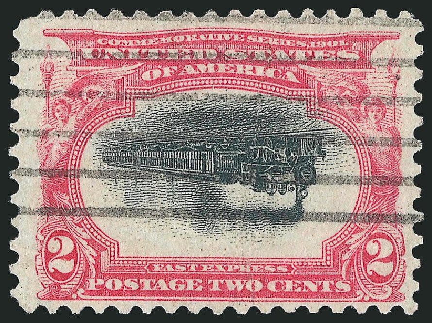 Prices of US Stamp Scott Catalog # 295: 1901 2c Pan American Exposition. Robert Siegel Auction Galleries, Nov 2014, Sale 1084, Lot 3691