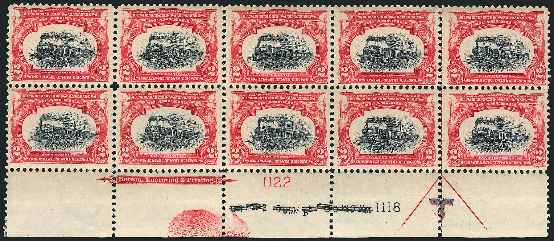 Cost of US Stamps Scott # 295: 2c 1901 Pan American Exposition. Robert Siegel Auction Galleries, Jun 2015, Sale 1100, Lot 71