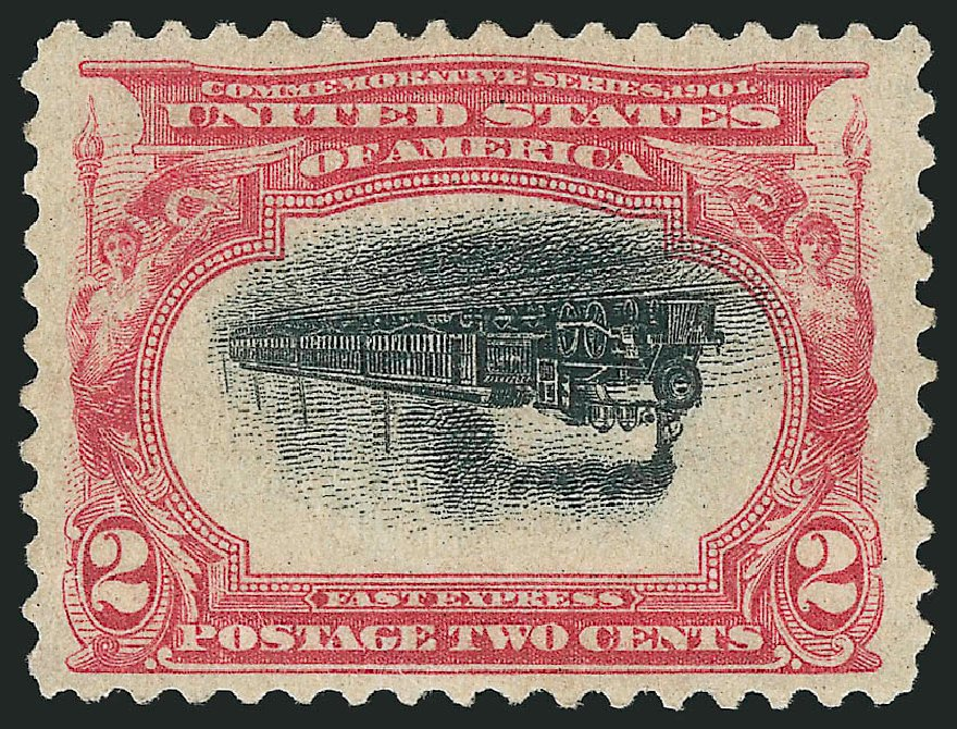 Price of US Stamps Scott Catalog 295: 1901 2c Pan American Exposition. Robert Siegel Auction Galleries, Feb 2015, Sale 1092, Lot 1252