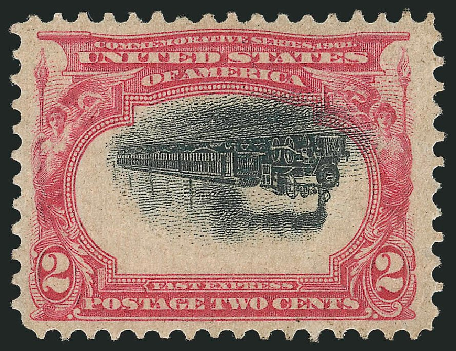 US Stamp Prices Scott Catalog 295 - 2c 1901 Pan American Exposition. Robert Siegel Auction Galleries, Apr 2015, Sale 1096, Lot 532