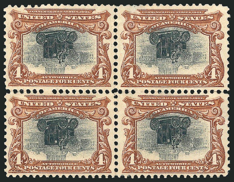 Value of US Stamps Scott Cat. # 296: 4c 1901 Pan American Exposition. Robert Siegel Auction Galleries, Jun 2015, Sale 1106, Lot 3147