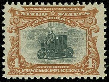 US Stamps Price Scott Catalogue #296: 4c 1901 Pan American Exposition. H.R. Harmer, Jun 2015, Sale 3007, Lot 3291