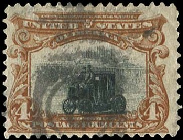 Cost of US Stamp Scott # 296: 4c 1901 Pan American Exposition. Regency-Superior, Aug 2015, Sale 112, Lot 634