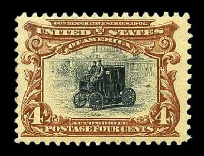Price of US Stamps Scott Catalogue 296 - 1901 4c Pan American Exposition. Harmer-Schau Auction Galleries, Aug 2015, Sale 106, Lot 1726